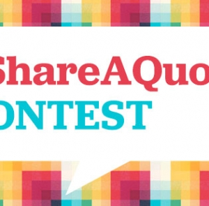 Contest: #ShareAQuote