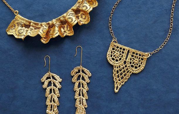 Dipped Lace Jewlery | UncommonGoods