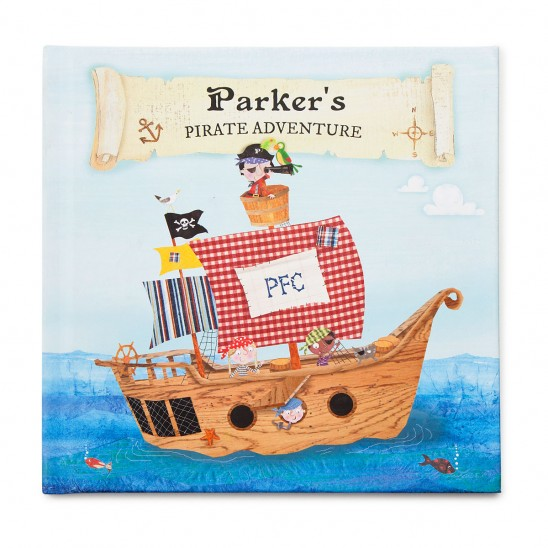 Personalized Pirate Book | UncommonGoods