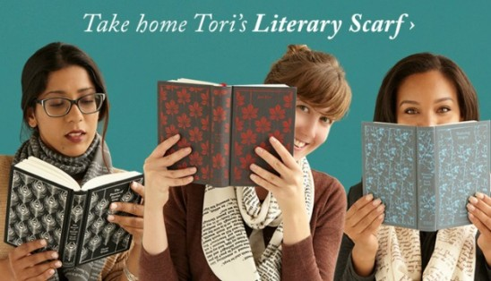 Literary Scarves | UncommonGoods