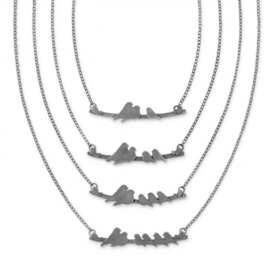 Parent Nestling Necklace | UncommonGoods