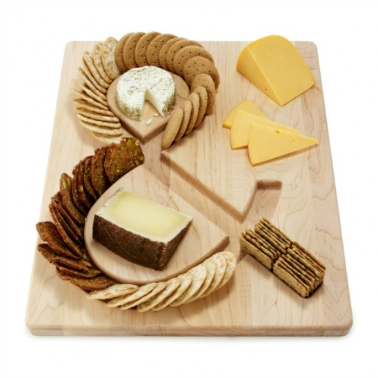 Cheese & Cracker's Serving Board | UncommonGoods