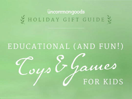 Gifts for Kids| Educational Toys and Games | UncommonGoods