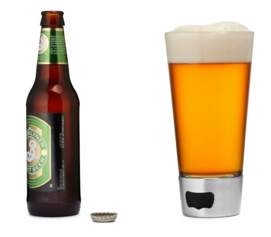 Beer Opening Glass | UncommonGoods