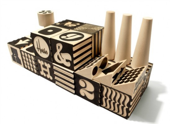 Alphabet Factory Blocks | UncommonGoods