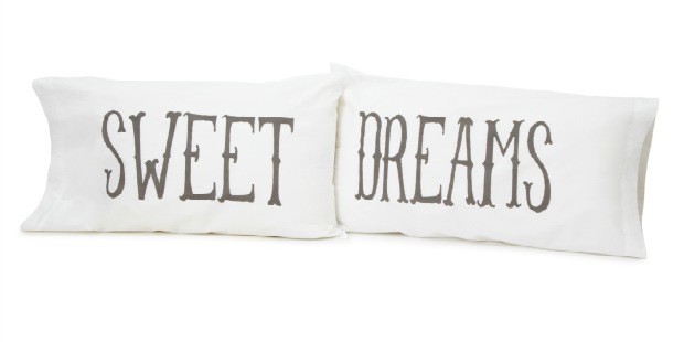 Sweet Dreams Pillow Case Set | UncommonGoods