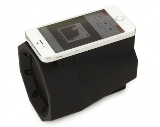 Boombox Touch Speaker | UncommonGoods