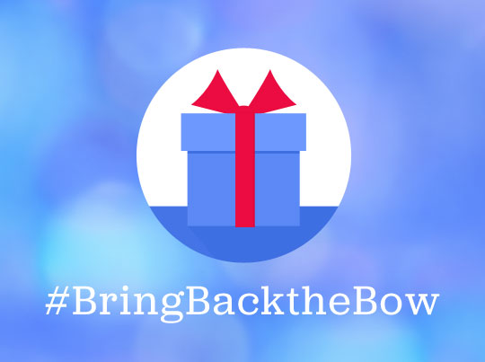 Enter to win our #BringBacktheBow contest!