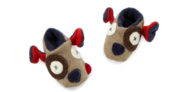 Baby Puppy Slippers | UncommonGoods