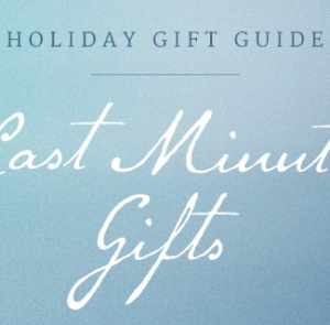 Last Minute Gifts for Everyone on Your List