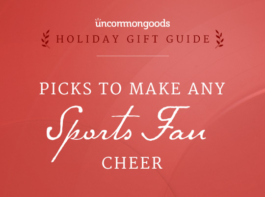 Gifts for Men:  Picks to Make Any Sports Fan Cheer | UncommonGoods