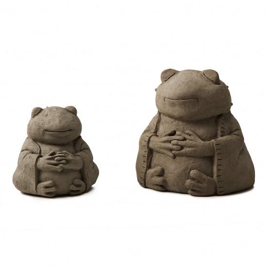 Zen Frog Garden Sculptures | UncommonGoods