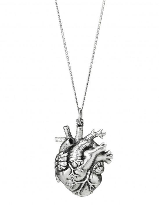 Anatomical Heart Pendant | UncommonGoods