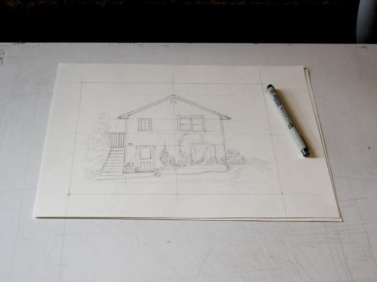 Classic Home Portrait | UncommonGoods