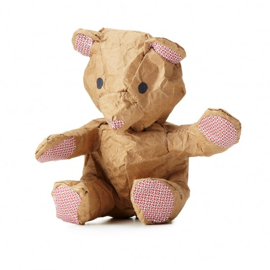 Crumple the Make-it-Yourself Bear | UncommonGoods