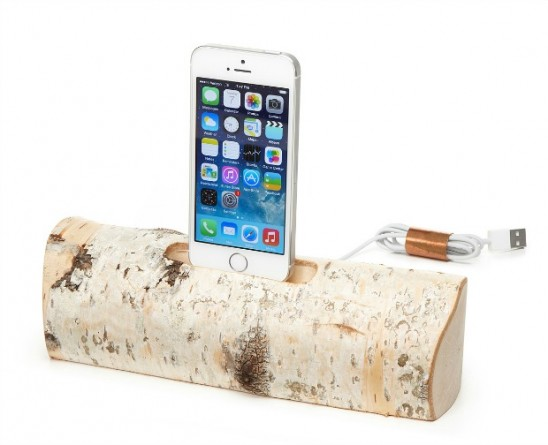 Birch iPhone Charging Dock | UncommonGoods