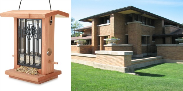 Frank Lloyd Wright For Our Feathered Friends