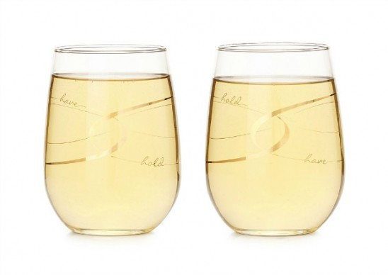 Have & Hold Stemless Wine Glasses | UncommonGoods
