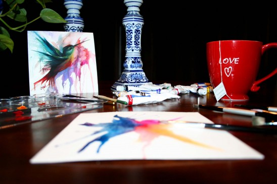 Sarah Janece Garcia's Studio Space | UncommonGoods