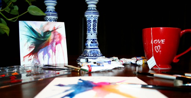Studio Space (watercolors)_featured