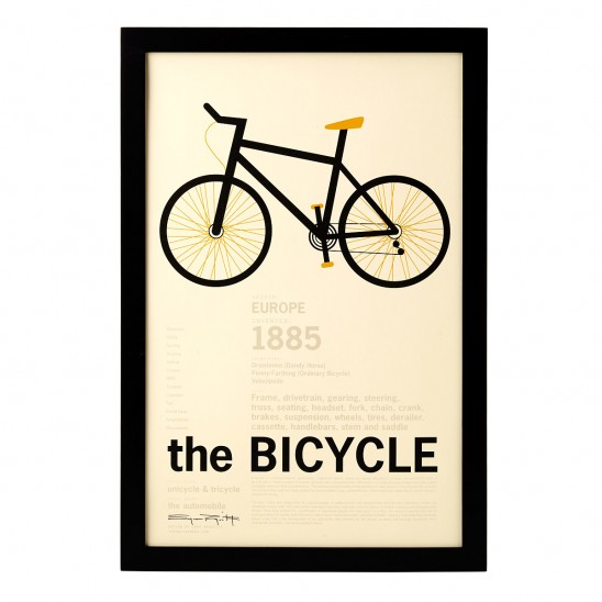 Bike Print | UncommonGoods