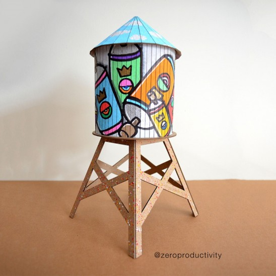 DIY Watertower | UncommonGoods
