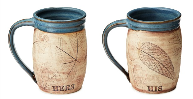 His or Her Woodland Mug | UncommonGoods