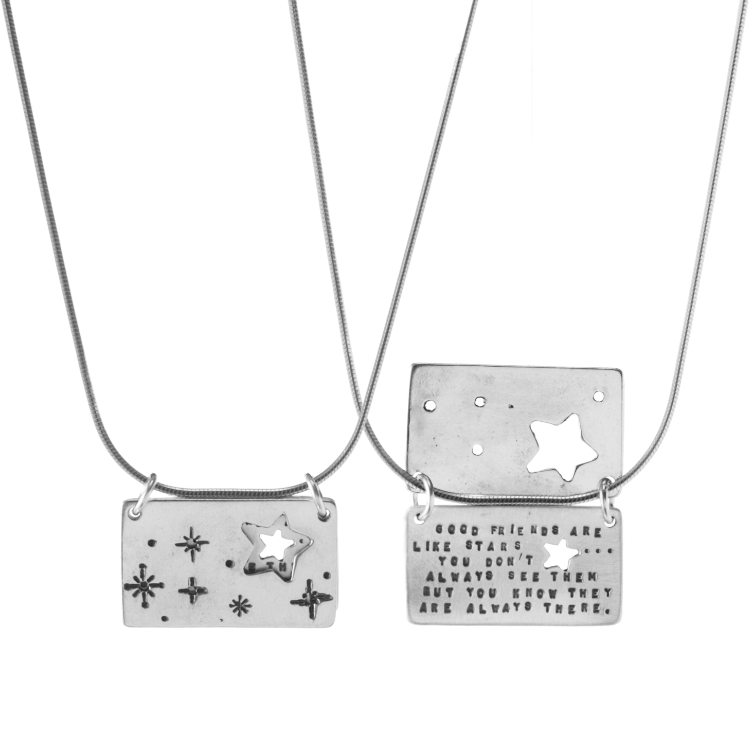 Starry Friends Necklace | UncommonGoods