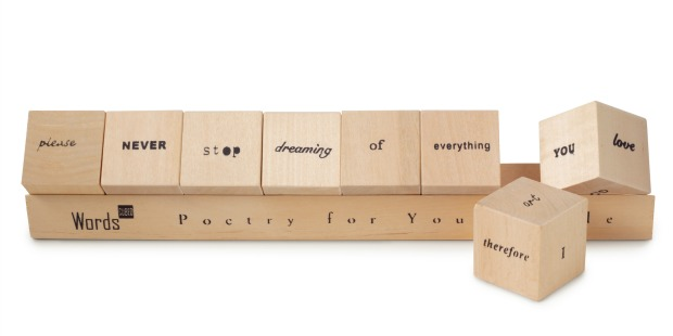 Words Cubed | UncommonGoods