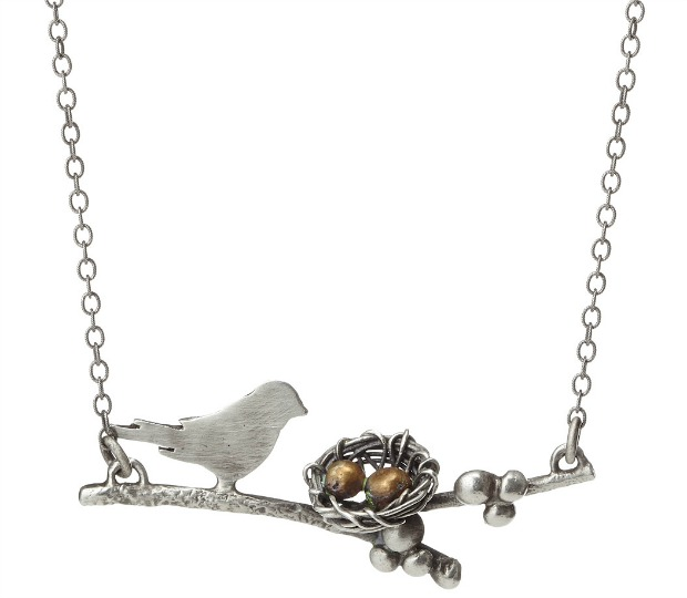 Mother BirdFamily Necklace | UncommonGoods