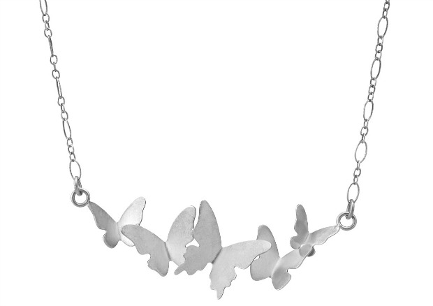 Butterfly Cloud Necklace | UncommonGoods