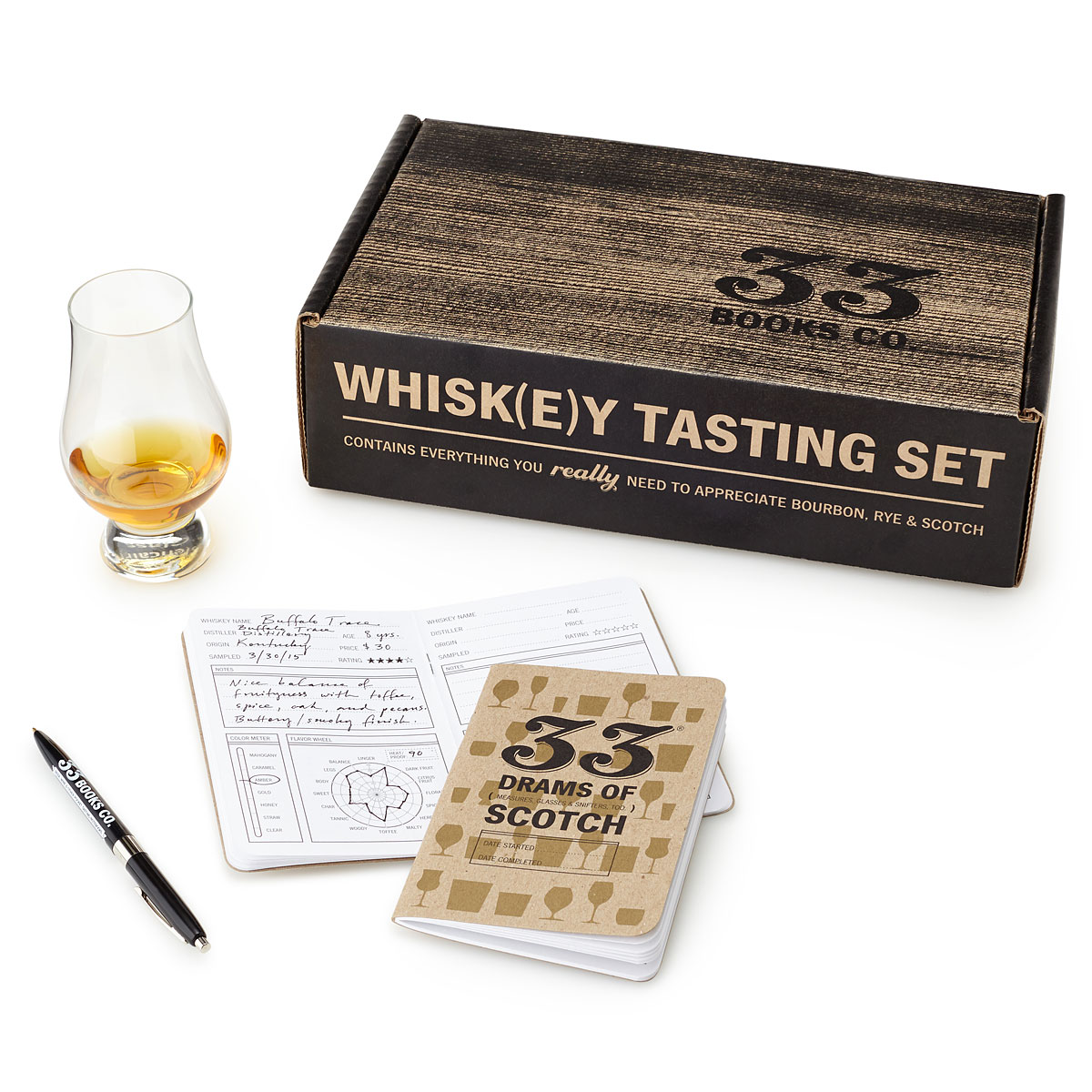 Whiskey Tasting Kit | UncommonGoods