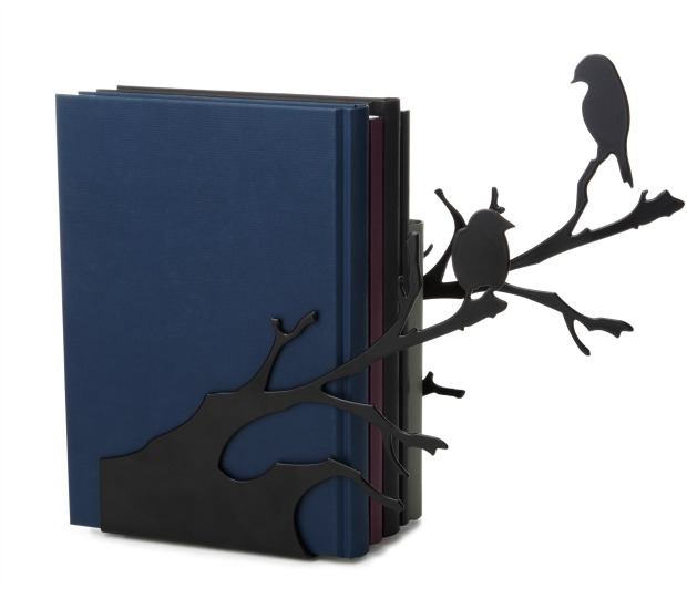 Perching Birds Bookends | UncommonGoods