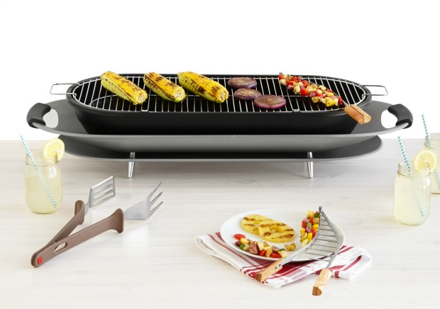 Tabletop Party Grill | UncommonGoods
