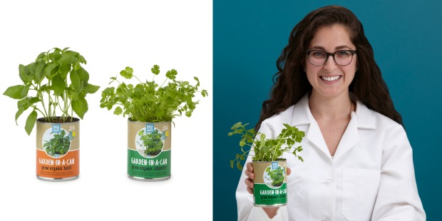 Rachel growing cilantro | UncommonGoods
