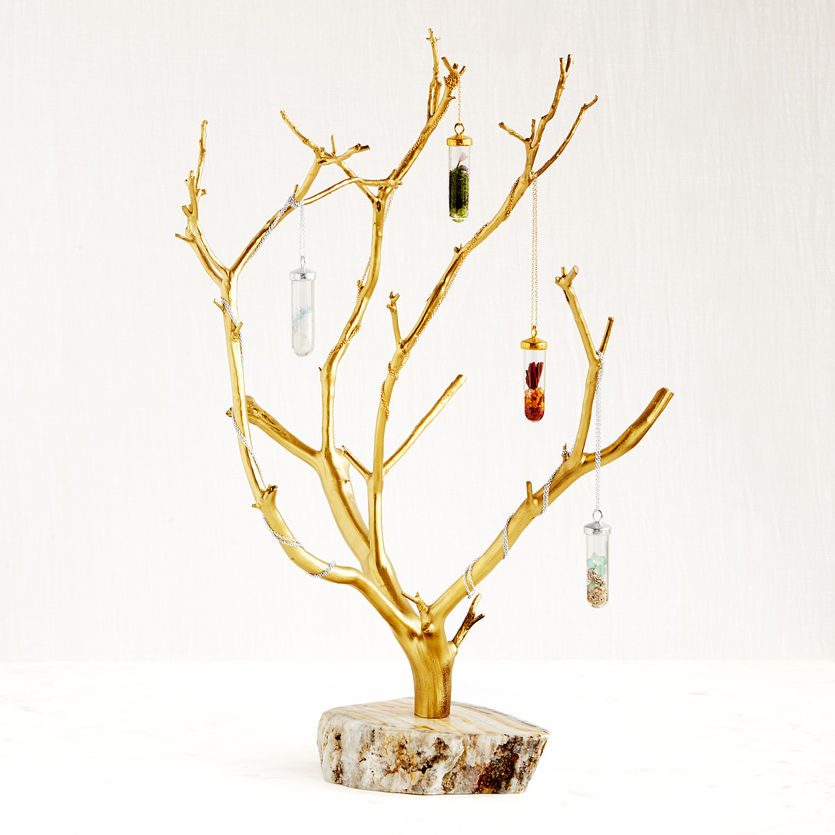 Gilded Branches Jewelry Tree | UncommonGoods