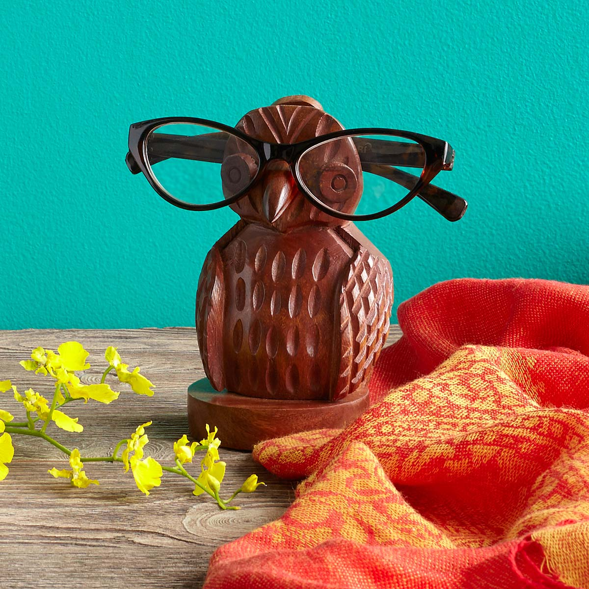 Owl Eyeglass Holder | UncommonGoods