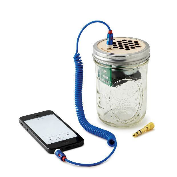 Mason Jar Speaker & Amplifier | UncommonGoods