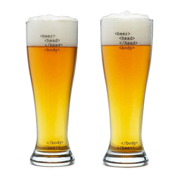 HTML Beer Glasses | UncommonGoods