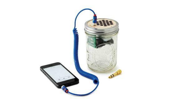 Mason Jar Speaker & Amplifier | UncommonGoods