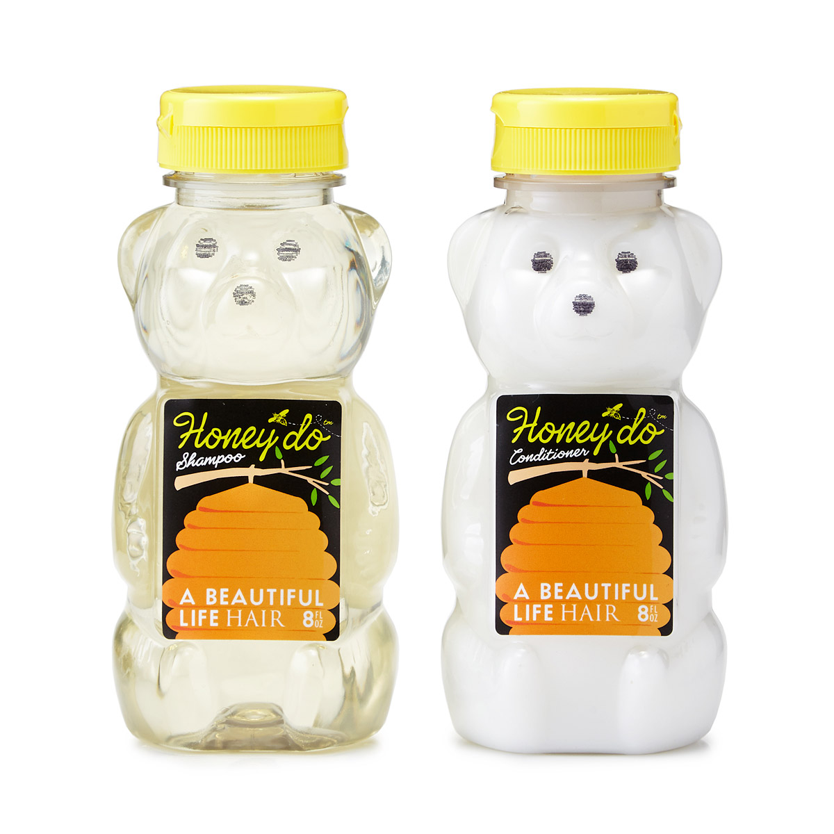 Honey Bears Shampoo and Conditioner Set | UncommonGoods