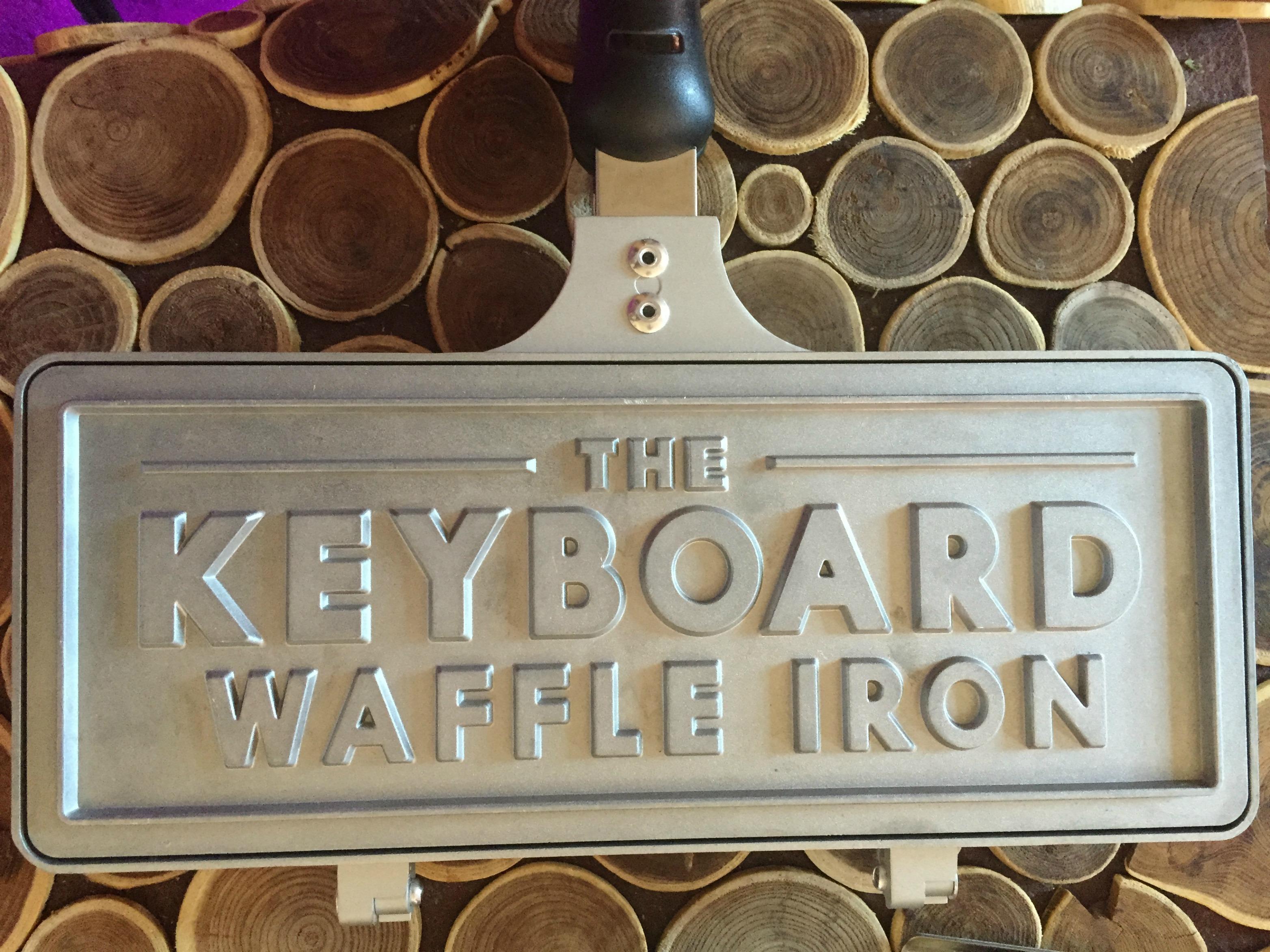 Keyboard Waffle Iron | UncommonGoods