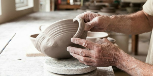 Going With the Flow: Brian's Kunkelman's Handmade Pottery