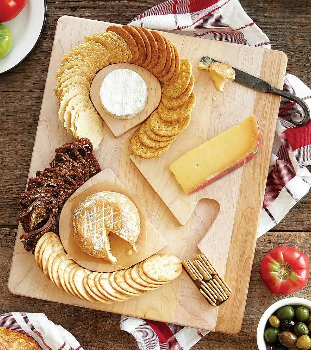 Cheese & Crackers Serving Board | UncommonGoods