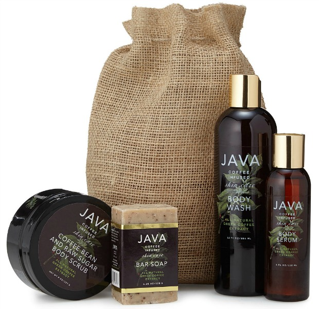 Java Coffee Infused Skincare Body Collection | UncommonGoods