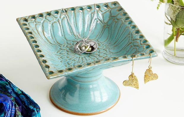 Pedestal Jewelry Holder | UncommonGoods