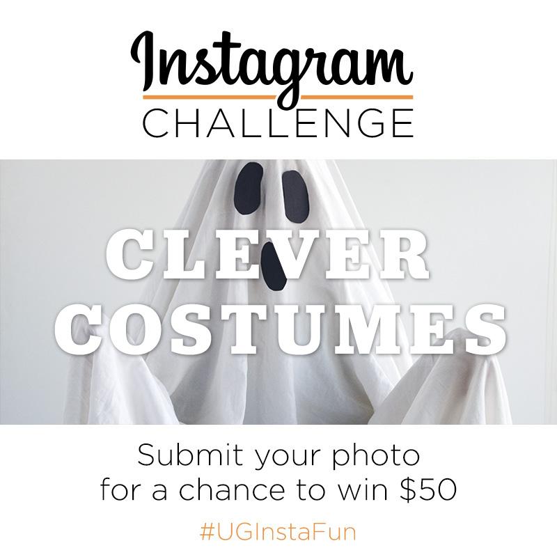 Instagram Challenge | Clever Costumes | #UGInstaFun