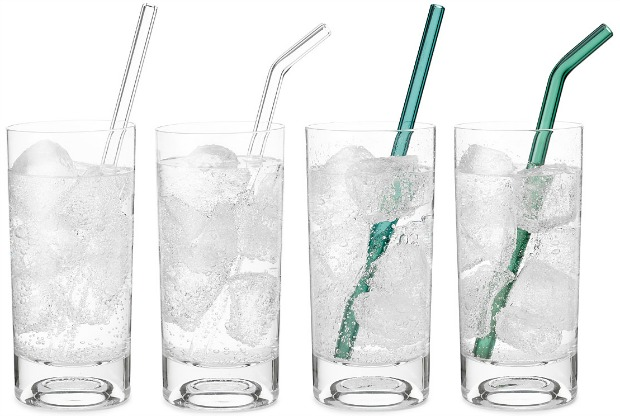 Glass straws | UncommonGoods