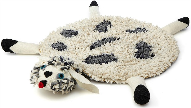 Sinclair the Sheep Rug | UncommonGoods
