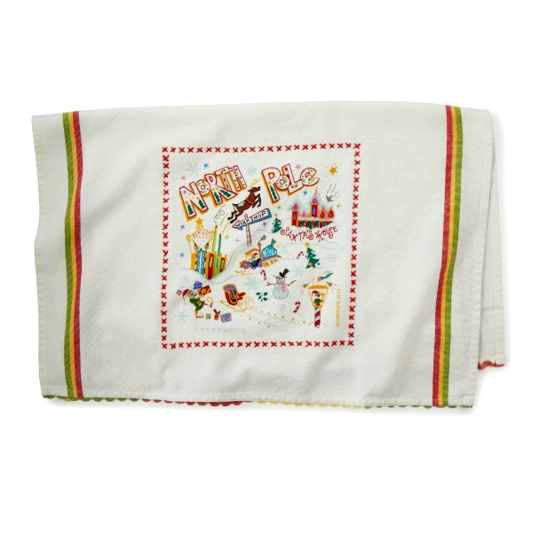 North Pole Dish Towel | UncommonGoods